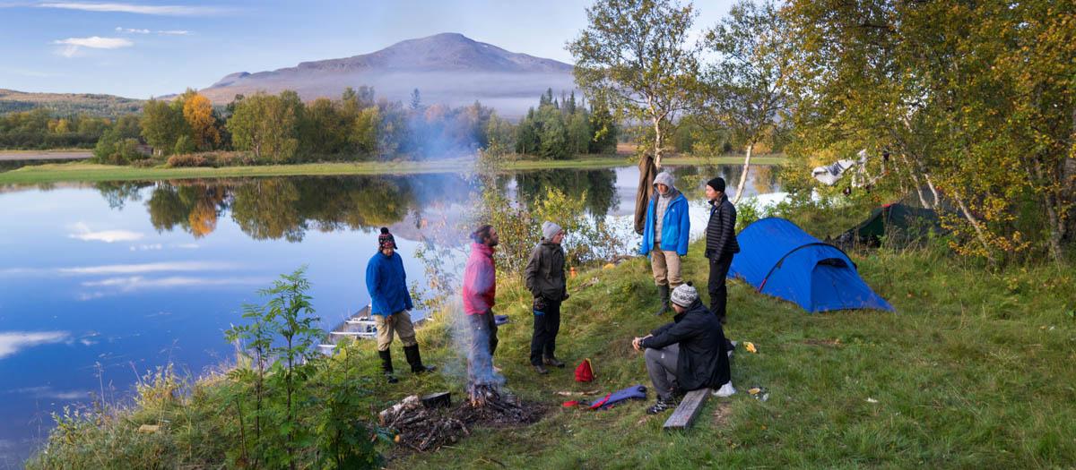 lägga en kurs på sjön