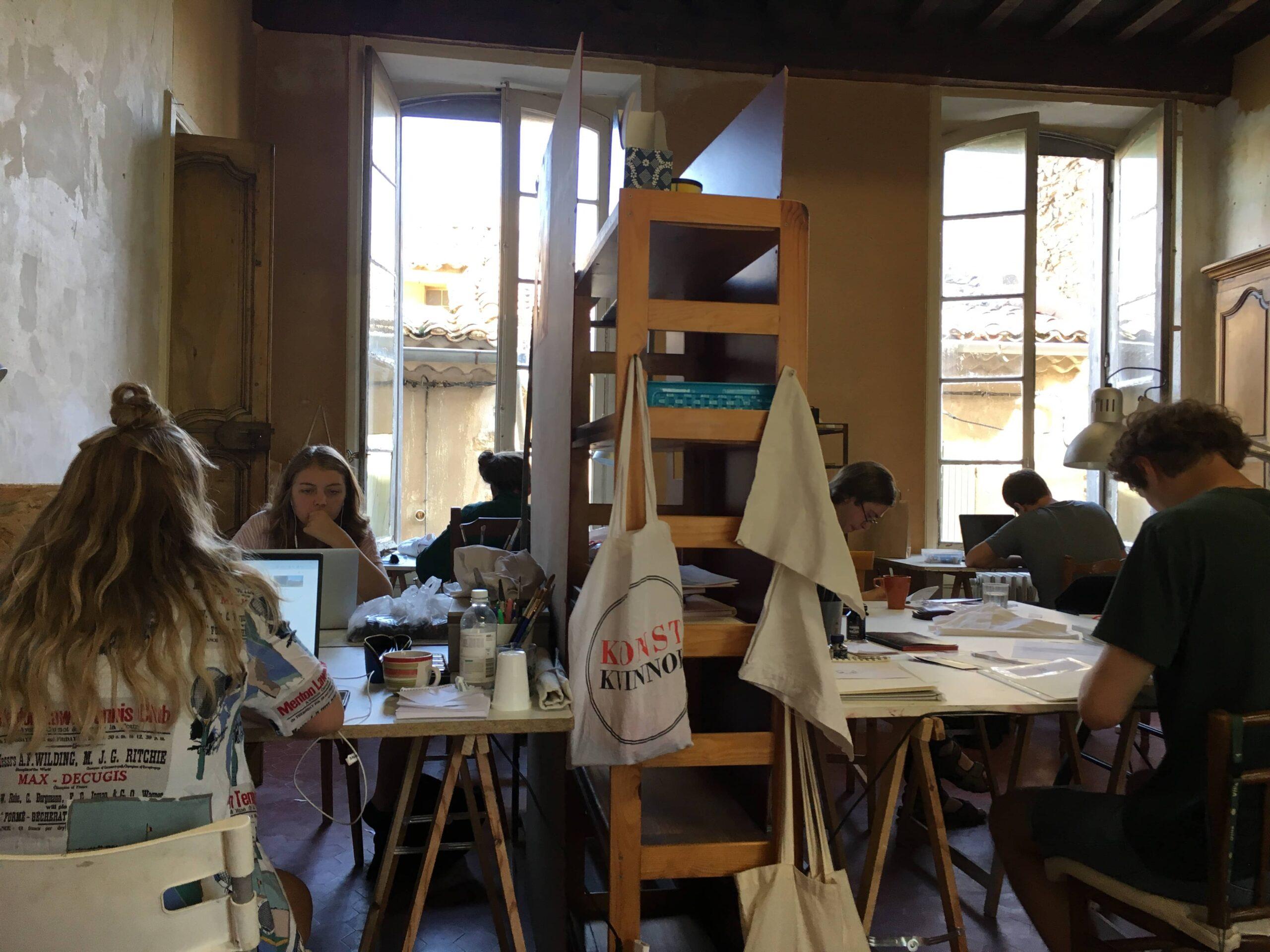 Konstnärer i Frankrike